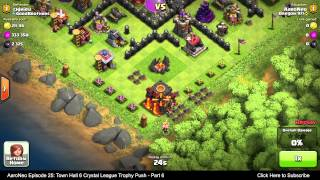 Town Hall Level 6 (TH6) Crystal League (2000+ Trophies