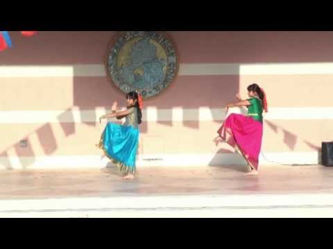 Indian Dance: Snake Holahoop Dance - Asian Cultural Festival 2013