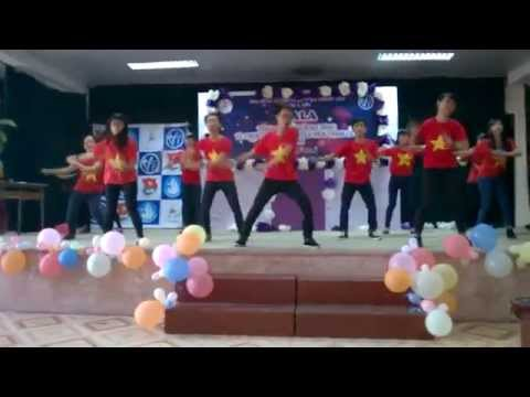 [Mương 36] Nhảy Flash Mob: Nối vòng tay lớn remix.