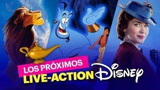 Los próximos Live Action Disney