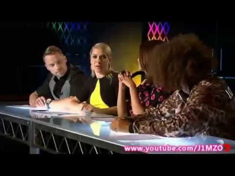 Over 25s - The X Factor Australia 2014 - BOOTCAMP (Day One)