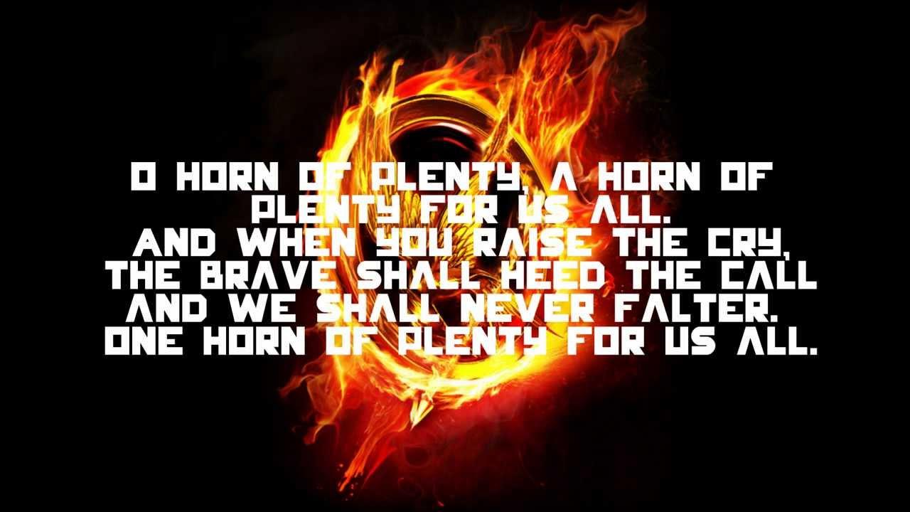 Horn of Plenty (Capitol's Anthem): Two Versions of Lyrics ... Horns Lyrics