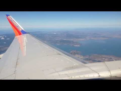 City by the Bay!  Southwest Airlines 737-300 Takeoff From Oakland!