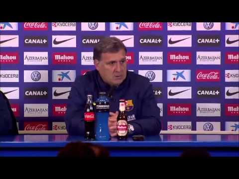 Martino content after draw