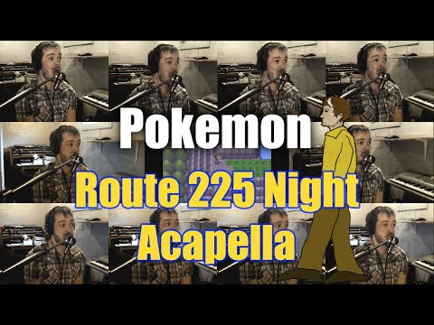 Pokemon Diamond/Pearl Route 225 Night Acapella - Jaron Davis