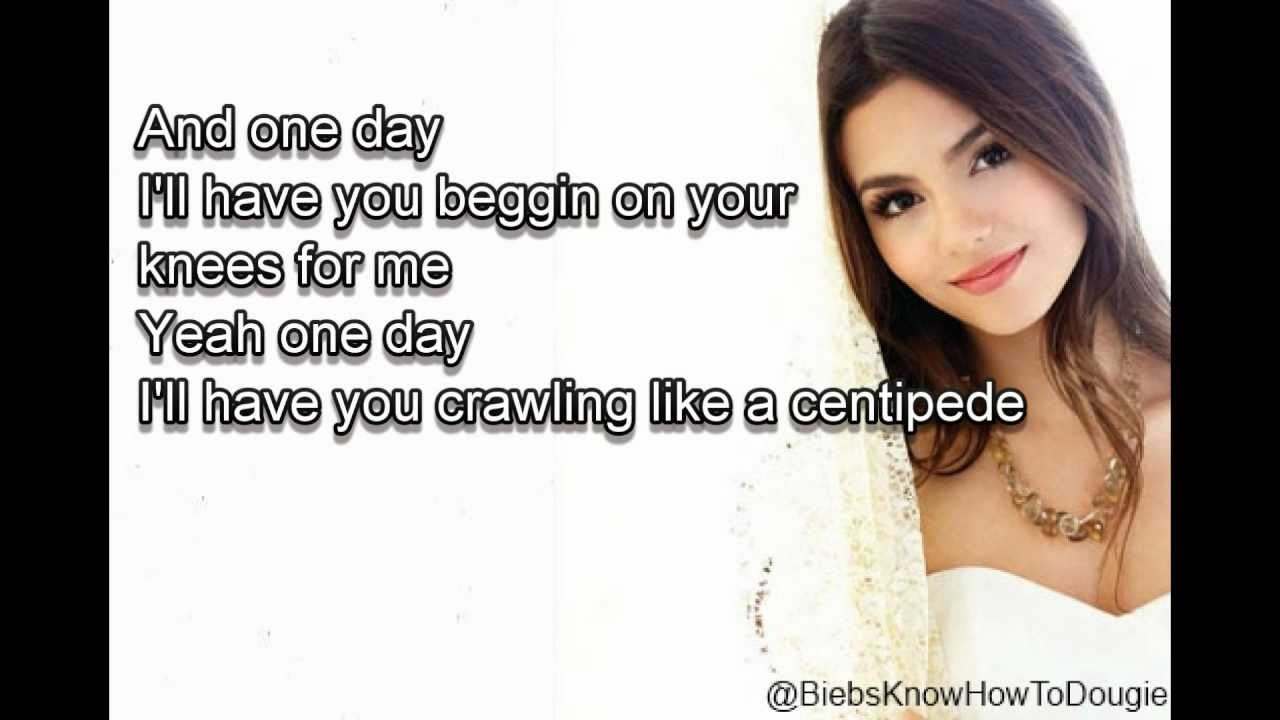 Songtext von Victorious Cast - Beggin' on Your Knees Lyrics