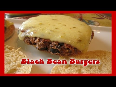 Black Bean Burgers ❤ Recipe by Rocky Barragan