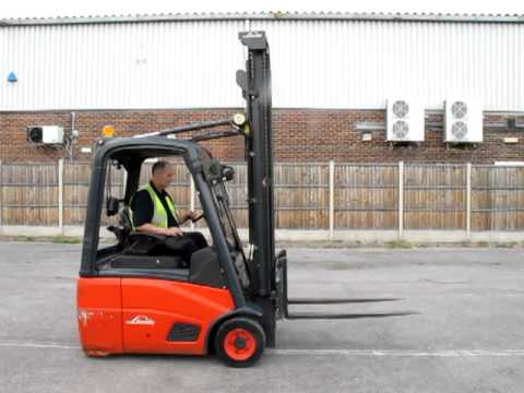 Linde E16c-0 SP Electric forklift truck sales@saveonkit.com