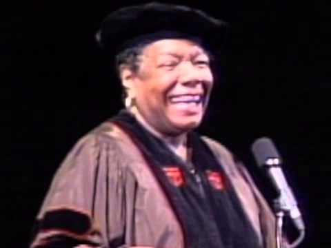 Maya Angelou's commencement address at SCAD
