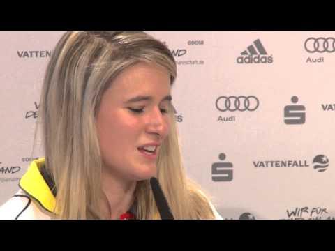 Geisenberger über Flucht auf die Toilette | Olympische Winterspiele Sotschi 2014