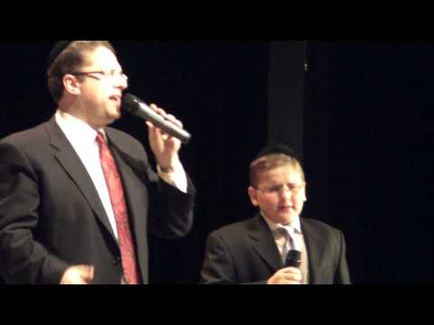 """Father and Son Singing """"Anovim"""""""