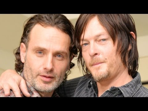 "Exclusive Interview: ""The Walking Dead"" A. Lincoln & N. Reedus share hilarious episodes on set"
