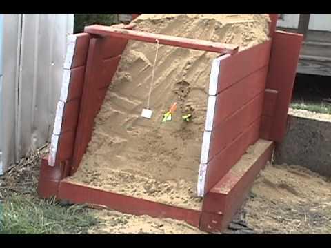SAND BOX ARCHERY TARGET YouTube