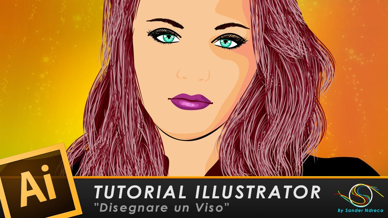 Tutorial illustrator quot disegnare un viso youtube