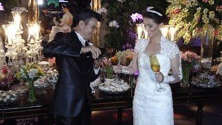 Casamento de Jessica e Claudio Haga