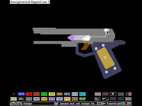 Powder toy gun youtube