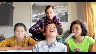 TRY NOT TO LAUGH CHALLENGE! Dad Jokes gone wrong!