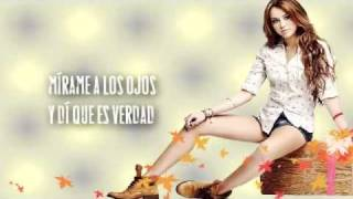 Miley Cyrus Take Me Along (letra Español)