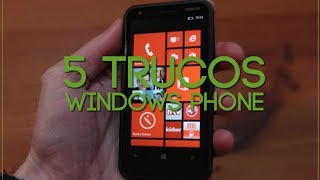 5 Trucos En WindowsPhone Nokia Lumia 620