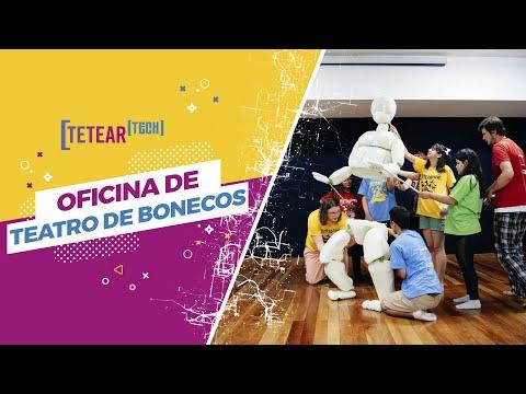 Oficina de Teatro de Bonecos - Tetear tech 2019
