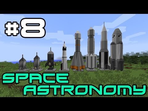 Minecraft Space Astronomy - Top Tier Tool Forging! #8