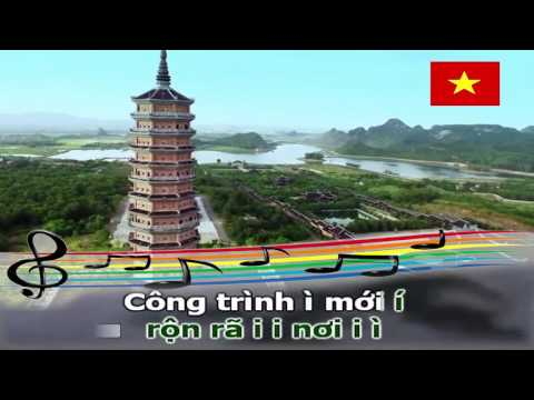 Karaoke hát chèo _  Hát về Tổ Quốc Làn điệu đường trường thu không