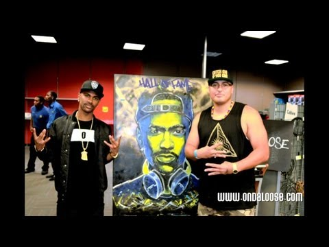 Big Sean Album Release Best Buy NYC ( E. Andaluz Live Painting )