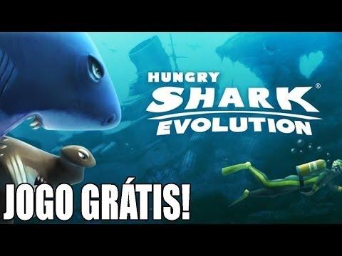 Hungry Shark Evolution - Jogos IOS e Android - Jogo grátis para você evoluir o seu tubarão!