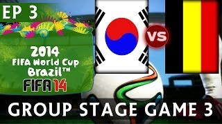 [TTB] 2014 FIFA World Cup Brazil South Korea Vs Belgium