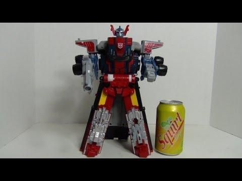 Transformers Armada Powerlinx Optimus Prime review