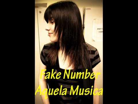 Fake Number - Aquela Musica