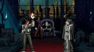 King Of Fighters Memorial Boss Fight: Igniz