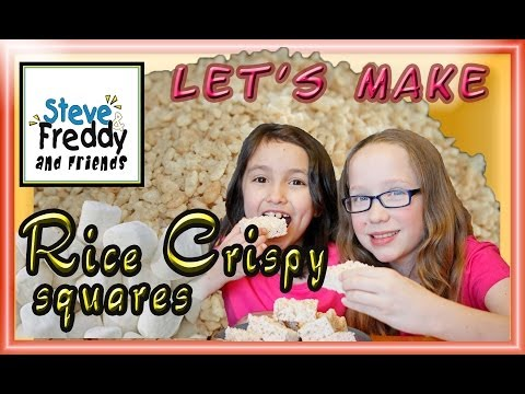 Rice Crispy Squares Recipe - Cereal Bar Treat