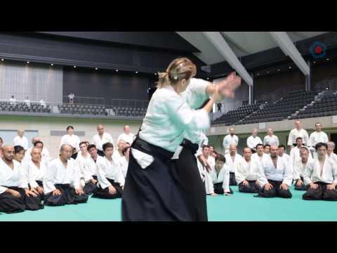 12th International Aikido Federation Congress - Class Highlights Micheline Tissier
