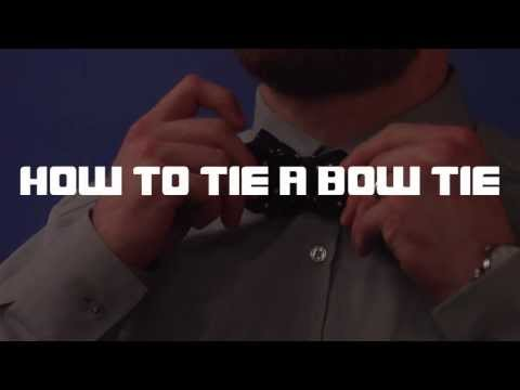 Brett Sterling's Instructional Video: How to tie a Bow Tie