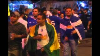 Cruzeiro vence Santos por 1 a 0 e larga na frente para a Copa do Brasil