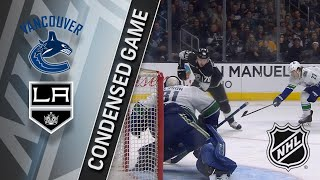 03/12/18 Condensed Game: Canucks @ Kings