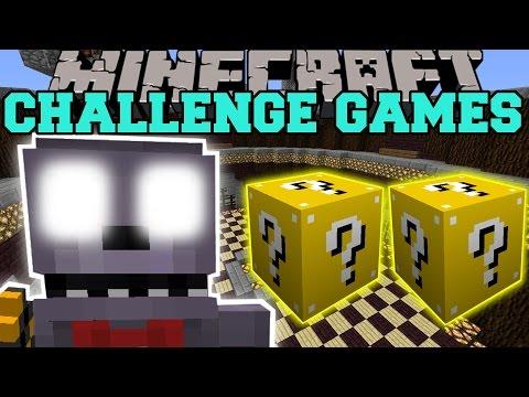 Minecraft: BONNIE CHALLENGE GAMES - Lucky Block Mod - Modded Mini-Game