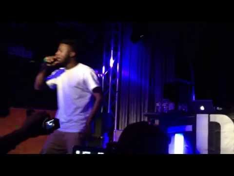Isaiah Rashad Ronnie Drake LIVE @ Milano 11 May 2014