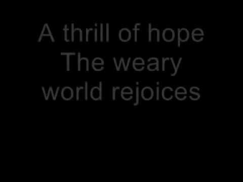 Celine dion oh holy night with lyrics youtube