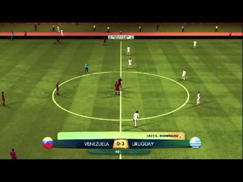 FIFA Digital World Cup 2014 Qualification: Venezuela - Uruguay
