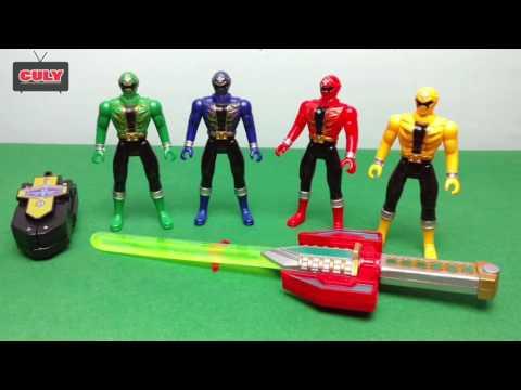 Bộ tứ Anh em siêu nhân hải tặc điện thoại biến hình kiếm thánh   Gokaigers power ranger toy for kid