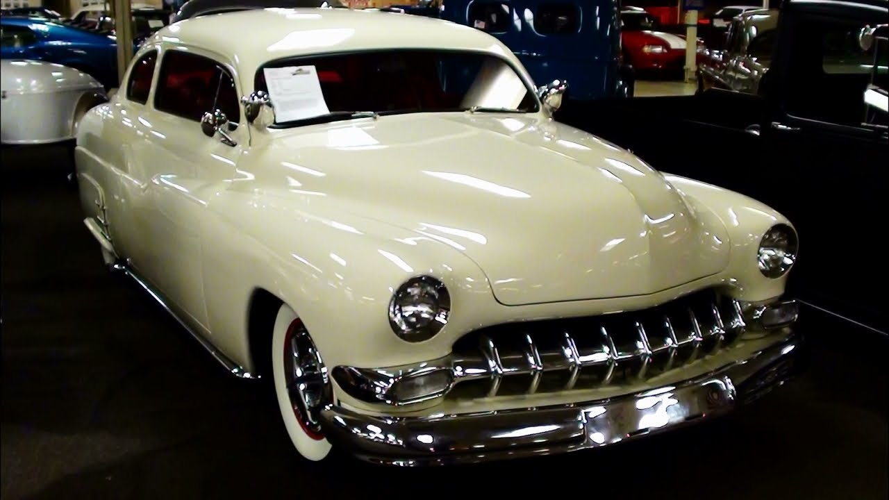 1950 Mercury Coupe Custom Show Car Chop Top Hot Rod