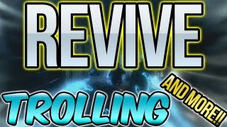 "Mob of the Dead Revive Trolling & More! ""Black Ops 2 Mob of the Dead Zombies"""