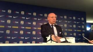 Lega Serie A, Juve e Marotta a favore di Tavecchio