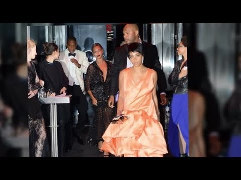 Solange Knowles Attacks Jay Z in Elevator at Met Gala