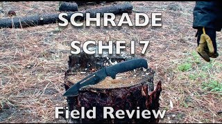 New 2014 Schrade SCHF17 Extreme Survival Knife Review