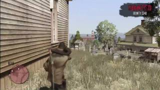 Red Dead Redemption Free Roam: Defending The Church