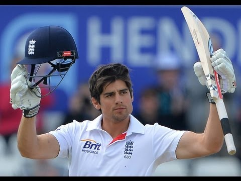 Alastair Cook century Highlights day 4 morning session England v New Zealand 2nd Test at Headingley