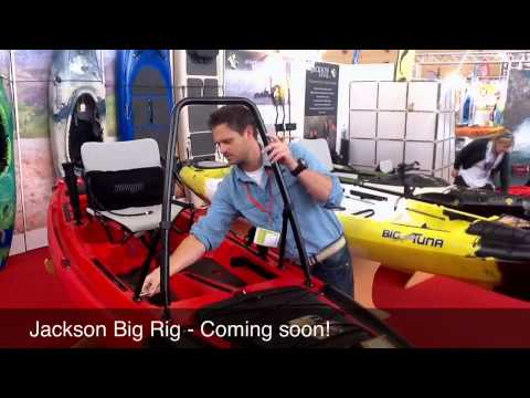 Big Rig - New Fishing Kayak From Jackson For 2014